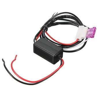 CAR SMART LED DAYTIME RUNNING LIGHT RELAY HARNESS DRL CONTROLER DIMMER ON - OFF