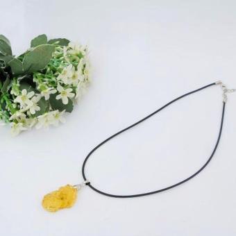 Vòng cổ tỳ hưu đá thạch anh PT2017( Vàng )