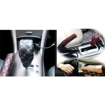 Bọc thắng tay- cần số ô tôAutoPlaza (Chỉ Trắng)