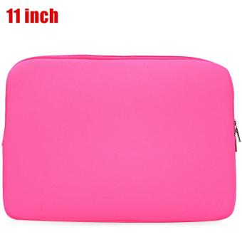 Korean Style Universal Foam Zipper Soft Sleeve Laptop Bag Cover for MacBook Air Pro Retina - intl