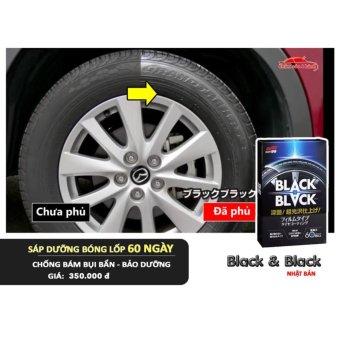 Chăm sóc xe SOFT99 - Dưỡng bóng lốp xe 1 tháng - BLACK BLACK Hard Coat for Tire