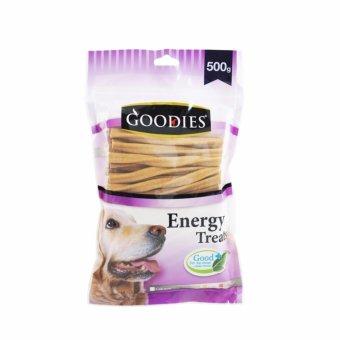 Que thức ăn vặt vị gan size lớn cho chó thương hiệu Goodies que M liver 500gr