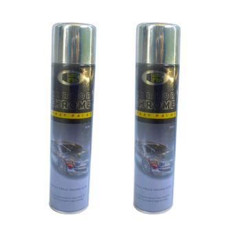 Bộ 2 chai sơn xịt hiệu ứng mạ inox (BN-B123)