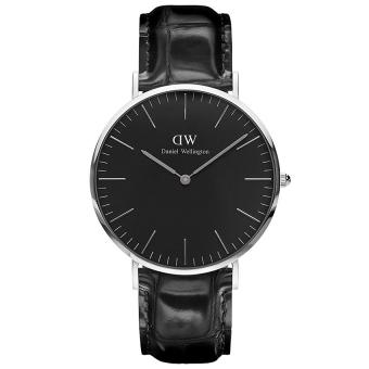 Đồng hồ nam dây da Daniel Wellington DW00100135 (Đen)