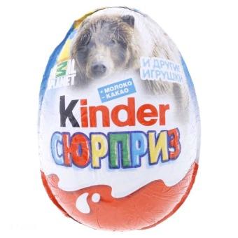 Chocolete trứng hình động vật Kinder CCLT20G