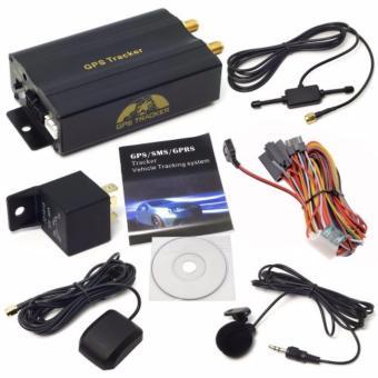 Thiết bị định vị cao cấp TK103 cho xe hơi-taxi-xe tải hỗ trợ GPS/SMS/GPRS Tracker (Đen)