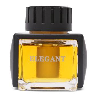 Nước hoa ô tô Elegant ELG-VAN Vanilla 60ml (vàng)