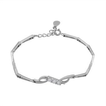 Lắc tay bạc nữ BẠC NGỌC TUẤN E04LAU000017