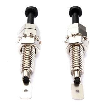 2x Universal Car Alarm Security Adjustable Auto Truck Hood Door Pin Switch - Intl