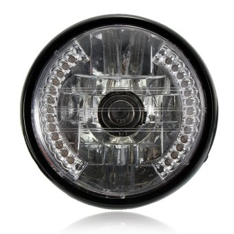 7 inch 35W Motorcycle H4 Halogen Headlight Halo Lamp LED Turn Signal FOR Honda Light - intl