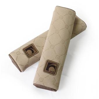 Trang trí dây an toàn ô tô FOCUS F-X01F-A kiểu dáng Gucci (Kem)