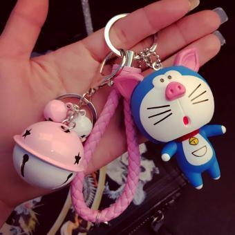 Móc Khóa Doraemon Heo ( chất liệu nhựa)