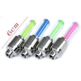 Bộ 4 đèn LED gắn van bánh xe máy ô tô HQ206131-2