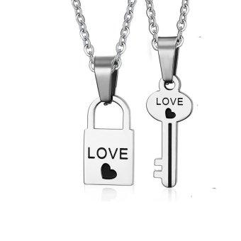 Dây chuyền cặp đôi chìa khoá tình yêu