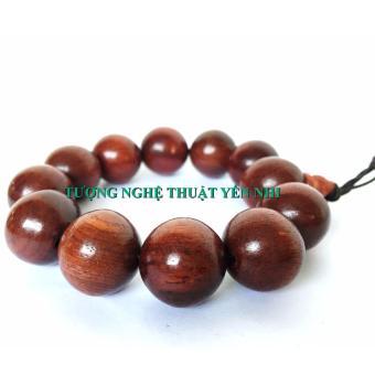 Vòng tay gỗ hương cao cấp 20mm
