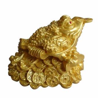 Thiềm thừ ngậm tiền vàng chiêu giữ tài lộc DVC12