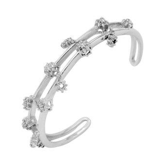 Lắc tay bạc nữ Bạc Ngọc Tuấn T19LAU000086