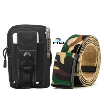 Túi Đeo Hông Cao Cấp Và Thắt Lưng Dù Chiến Thuật Đi Phượt 80TU57-923
