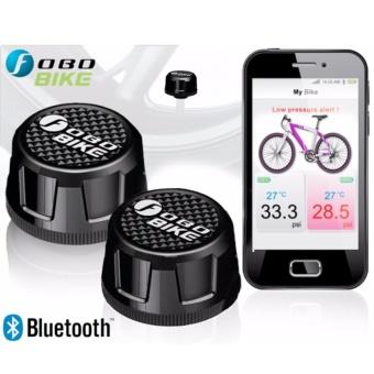 Thiết bị đo áp suất lốp xe máy Fobo Bike (Đen)
