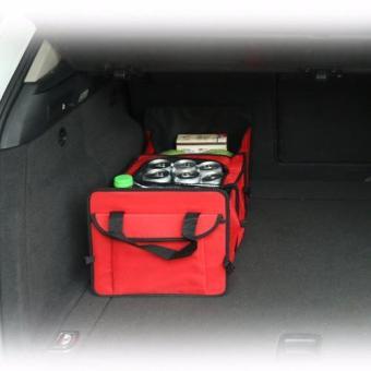 Túi đựng đồ cốp sau ô tô ( Đỏ )