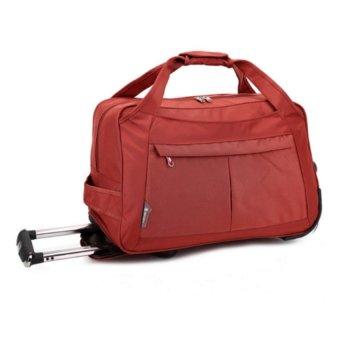 Túi du lịch có cần kéo cao cấp HQ5891 (Đỏ)