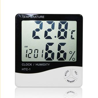 Đồng hồ nhiệt kế đo độ ẩm và nhiệt độ HTC-1