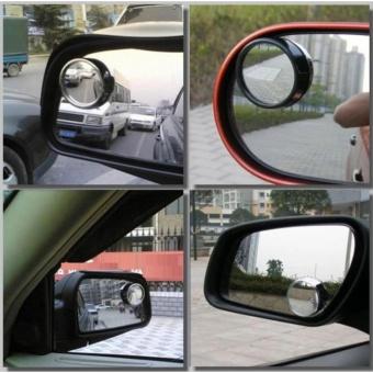 Gương phụ cầu lồi xoay 360 độ gắn kính chiếu hậu xe ô tô loại 1 cao cấp