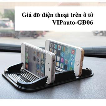 Giá đỡ điện thoại trên xe ô tô VIPauto-GĐ06 (Đen)