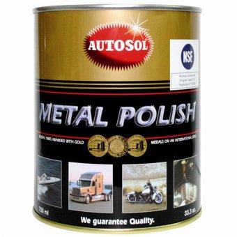 Kem đánh bóng kim loại - Inox - Đồng Autosol Metal Polish 750ml