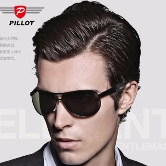 Kính mát thời trang PILLOT K19 (Đen)