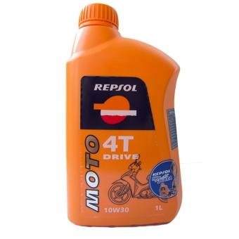 Dầu nhờn Repsol Moto Drive 4T 10W30 1L (Cam)