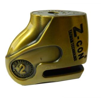 Khóa đĩa xe máy Z-Con DX6-1 (Vàng đồng)