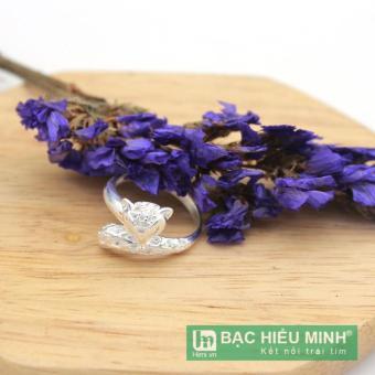 nhẫn nữ BẠC HIỂU MINH nu436 hồ ly