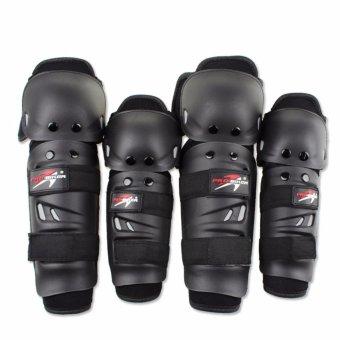 Bó gối tay chân nhựa Probiker (2 tay + 2 chân)