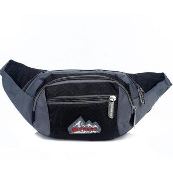 Túi đeo hông du lịch, thể thao, chống nước H04 (Đen).