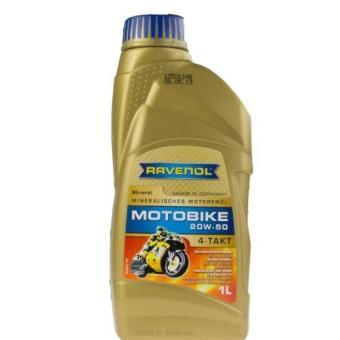 Nhớt xe số RAVENOL MOTOBIKE 4-T MINERAL 20W-50 0.8L