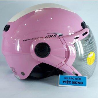 Mũ Bảo Hiểm Grs A102k (Hồng)