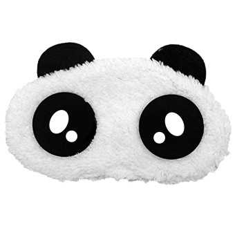 Cartoon Panda Cotton Sleeping Eye Mask Cover Shade Patch Blindfold Nap Sleep Travel Rest Blinder Style 3