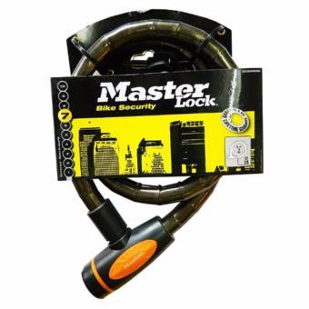 Khóa dây cáp Master Lock 1m x 18mm 8228DPROSM (Xám đen)
