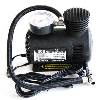 Bơm lốp xe hơi ô tô chuyên dụng HQ206085 (Đen)