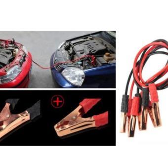 Bộ dây câu bình ắc quy 500A (Đen đỏ)
