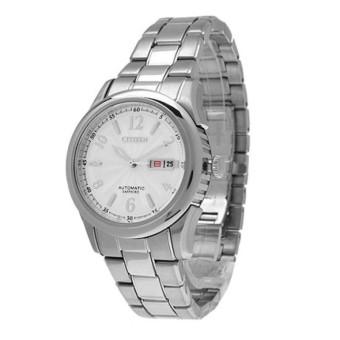 Đồng hồ nam dây thép không gỉ tự động Citizen NH8315-50A