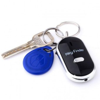 Móc chìa khóa thông minh huýt sáo (Đen)