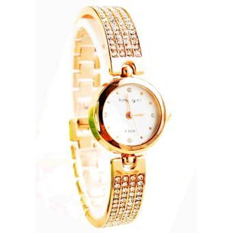 Đồng hồ nữ dây inox chống gỉ nuc20209 (Vàng Hồng)