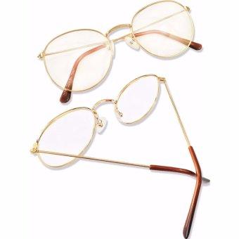 Bộ Đôi Mắt kính ngố gọng cận Nobita nam-nữ baby cute KZY (Vàng)