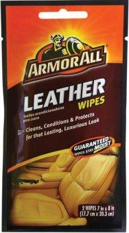 Bộ 2 khăn làm sạch các vết bẩn bám trên ghế da Armorall 17237 (Nâu)