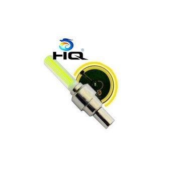Bộ 2 Đèn LED Gắn Van Đổi Màu Cho Bánh Xe Máy Ôtô HQ STORE 1TI31-2A (vàng)