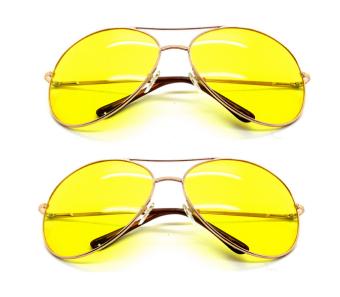 Bộ đôi kính mắt vàng nhìn xuyên đêm TTP (Vàng)