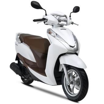 Xe tay ga Honda Lead 125cc (Trắng - Nâu)
