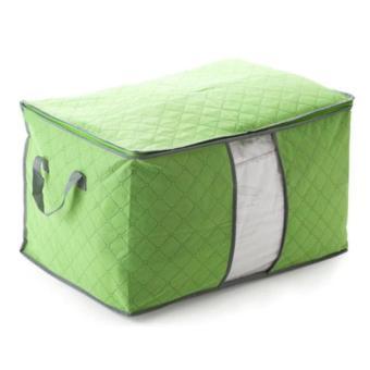 Túi vải đựng chăn màn quần áo tiện dụng (Xanh lá cây)